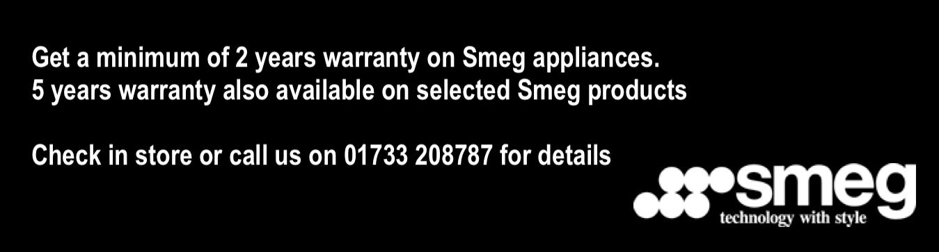smeg warranty